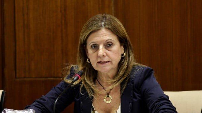 La consejera de Salud Marina Álvarez