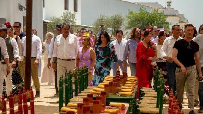 El programa MasterChef Celebrity2  atrajo las miradas de muchos almonteños y visitantes