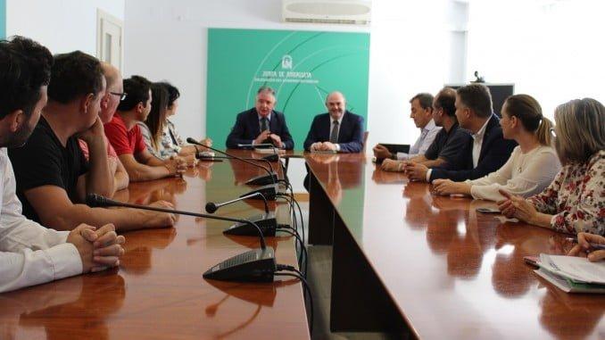 El delegado del Gobierno de la Junta se ha reunido con representantes de 15 municipios