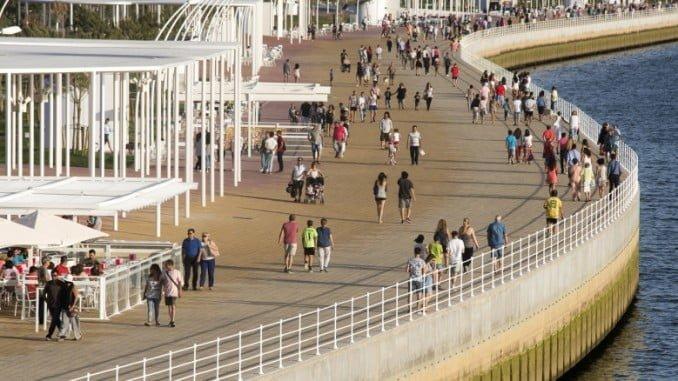 El Paseo de la Ría recibe un premio urbanístico