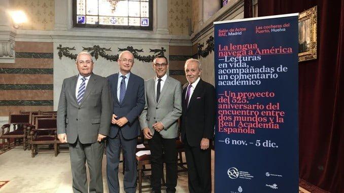 Presentación de 'La lengua navega a América' en la Real Academia Española