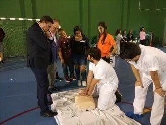 El 061 ha formado en los últimos cuatro años  a 4.000 personas en Huelva