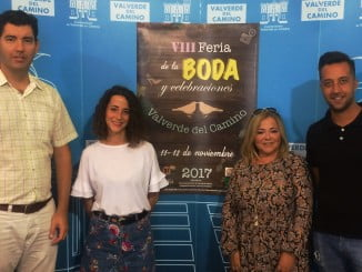 La valverdeña Laura Gómez, la escenógrafa del Rey León, ha hecho el cartel anunciador de la presente edición de la Feria de la Boda
