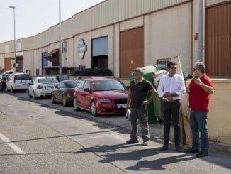 El concejal de Infraestructura y Servicios Públicos visita el Polígono Miraval