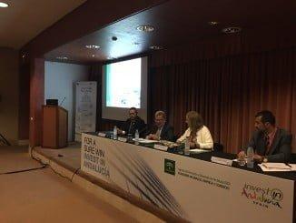 Antonio González, ha presentado hoy ante 65 potenciales inversores las ventajas de Andalucía como destino de sus inversiones en el Workshop Oportunidades de inversiones y apoyos  públicos a las inversiones mineras en Andalucía