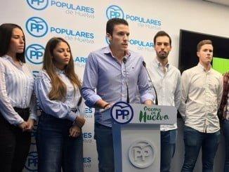 Adrián Cano, presidente local de NNGG de Aljaraque