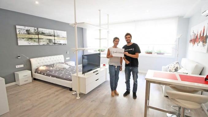 La mayoría de los estudiantes eligen vivir de alquiler, en un piso compartido o solos