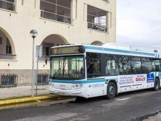 La Línea 4 conecta cada media hora el Centro con los tres hospitales públicos de Huelva