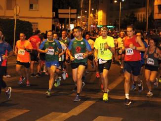 Éxito de participación en la carrera nocturna