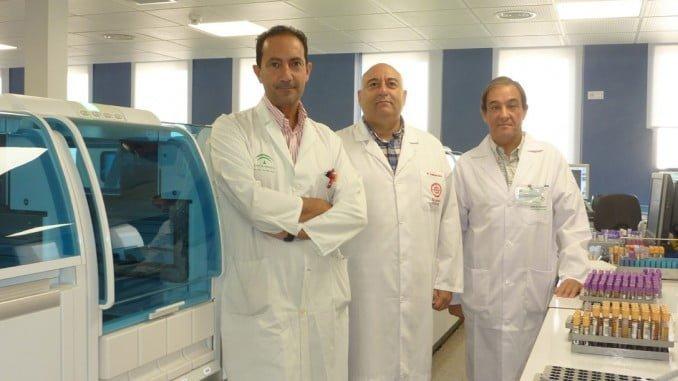 Juan Bayo, Francisco Navarro y Miguel Ángel Castaño, artífices de este importante descubrimiento