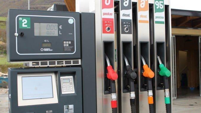 El precio medio del litro de gasóleo se ha situado esta semana en los 1,109 euros