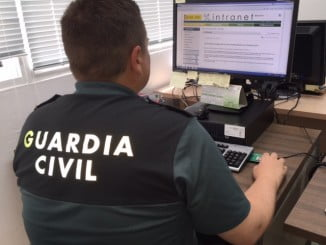 Tras una ardua investigación, la Guardia Civil localizó al presunto estafador en Alcalá de Henares