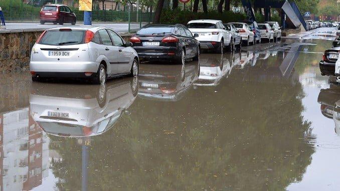 La barriada de El Molino ha sido una de las más afectadadas de la capital por la tormenta