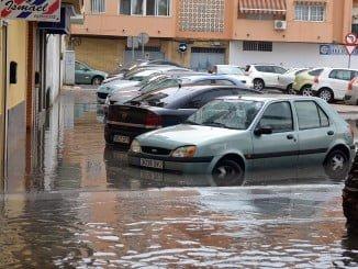 El Molino de la Vega ha sido una de las zonas más afectadas por la lluvia
