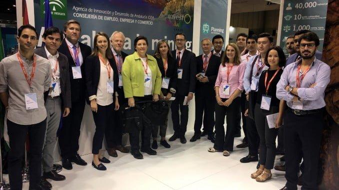 21 empresas andaluzas del sector de minero y doce agentes de ocho países extranjeros celebraron un total de 166 entrevistas de negocios durante el MMH