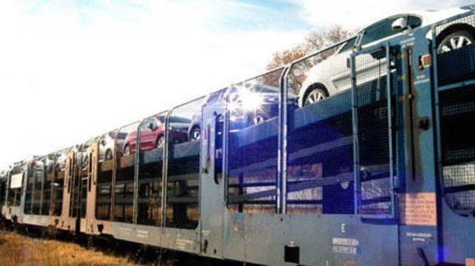 El informe dice que la calidad percibida del servicio del transporte de vehículos por ferrocarril es aceptable, pero aún mejorable