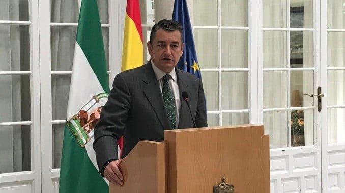 Sanz informa en Rueda de Prensa sobre los datos de violencia de género en Andalucía el primer semestre del año