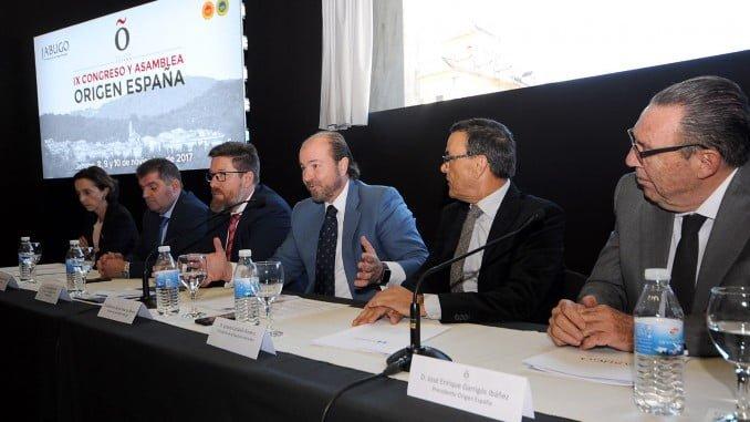 El presidente de la DOP Jabugo, Guillermo García Palacios, consideró que con el congreso culmina un año histórico