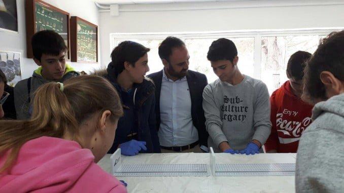 Jornadas de puertas abiertas para 200 alumnos procedentes de diversos centros educativos de Huelva y Sevilla.