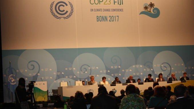Cumbre del Clima de Bonn