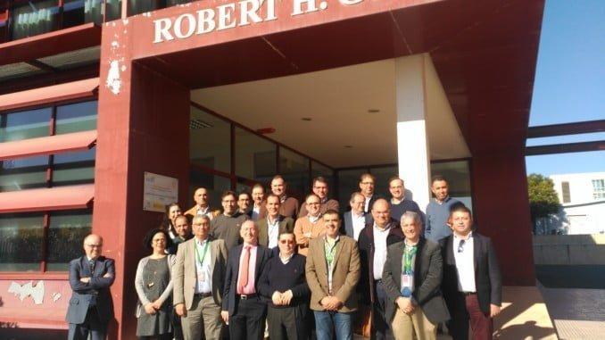 Encuentro de investigadores de la UHU con Cepsa.