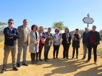 Inauguración del nuevo Parque Punta de la Barranca en Corrales.