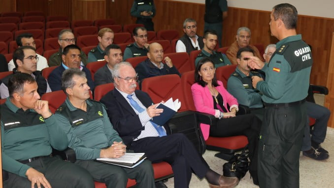 Reunión informativa Guardia Civil y sector agrícola plan contra robo cobre