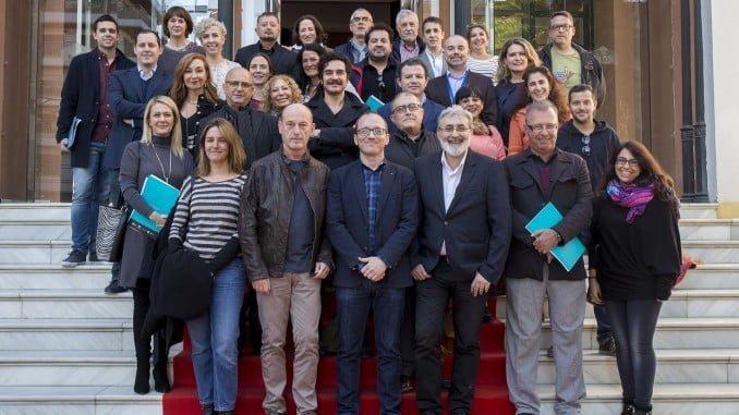 La futura Academia del Cine y las Artes Audiovisuales de Andalucía da sus primeros pasos en Huelva