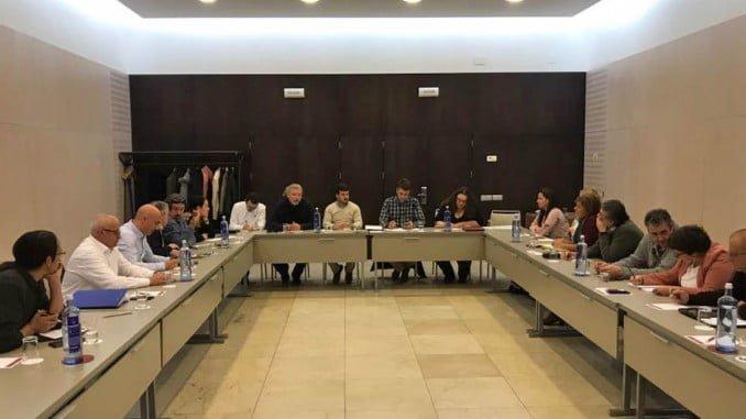 El tema de la reducción de cuota del boquerón  fue uno de los principales temas abordados por la Coordinadora nacional de AxSí reunida este sábado