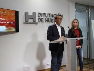Igancio Caraballo presenta el proyecto Camino Natural del Río Tinto, en el que se invertirán 390.000 euros