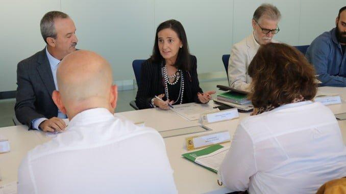 Asunción Grávalos en la comisión provincial del Programa de Fomento de Empleo Agrario