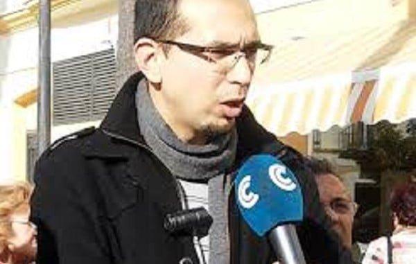 Daniel Martínez, portavoz IU Ayuntamiento de Almonte
