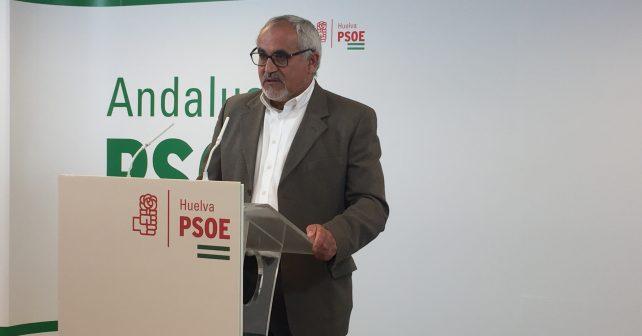 El parlamentario andaluz por el PSOE Diego Ferrera