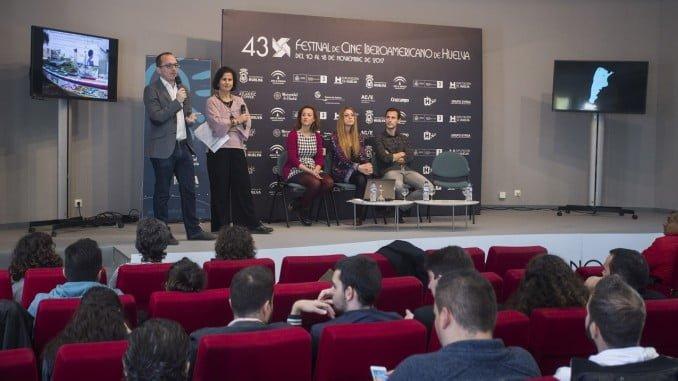 El director del Festival de Cine  y la directora de la AVA inauguran el cuentro audiovisual