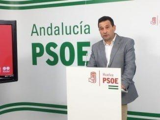 El secretario de Política Municipal del PSOE, Ezequiel Ruiz