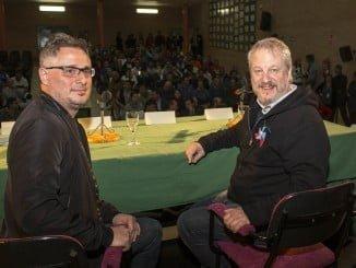 Miguel Ángel Roca y Jorge Marrale, director y protagonista de 'Maracaibo', llevan el Festival a la prisión