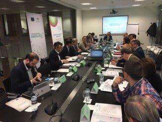 Reunión del grupo de trabajo de Transporte de la Estrategia Industrial de Andalucía 2020