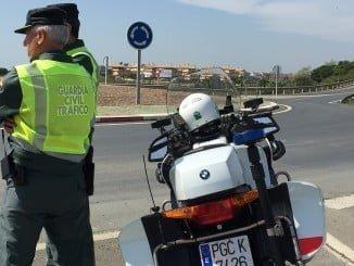 """La Guardia Civil del Subsector de Tráfico de Huelva ha intervenido en la peligrosa """"quedada"""""""