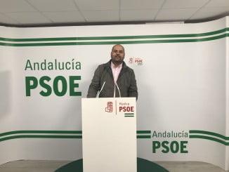 Portavoz del Grupo Municipal Socialista en Zalamea, Diego Rodríguez