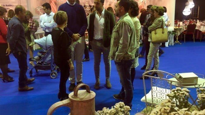 Inauguración de la Feria de la Boda en Valverde
