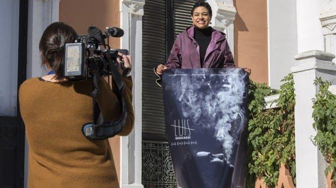 La productora Desiree Reyes ha presentado en Huelva 'Luis'