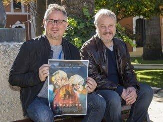 El director Miguel Ángel Rocca y el actor Jorge Marrale presentan en Huelva 'Maracaibo'