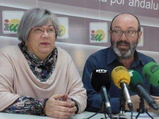 Mónica Rossi y Pedro Jiménez en rueda de prensa