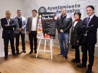 El alcalde presenta la programación navideña junto a los comerciantes del Centro e Isla Chica