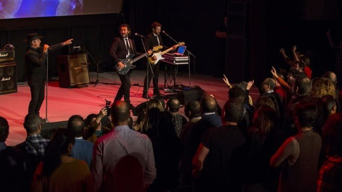 El público disfrutó del concierto de 'No me pises que llevo chanclas'