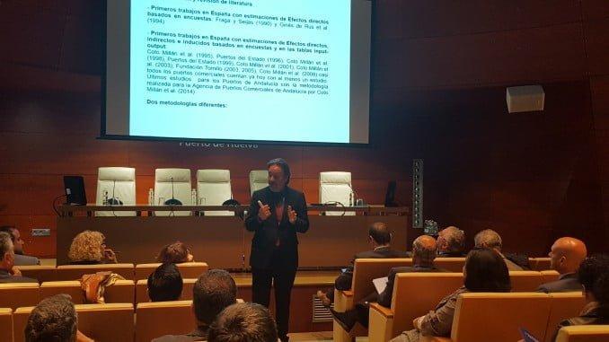 Conferencia de Pablo Coto sobre Impacto económico portuario: Metodologías para su análisis y aplicaciones´