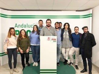 Pablo Valdera es el portavoz del Grupo Socialista en el Ayuntamiento de Bollullos