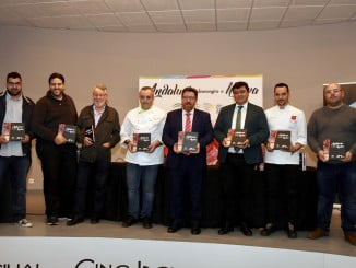 Presentación del libro 'Andalucía homenajea a Huelva'