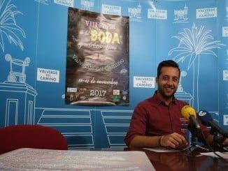 Rueda de prensa en Valverde del Camino para presentar su Feria de la Boda