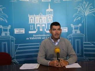 Rueda de prensa del alcalde de Valverde del Camino para